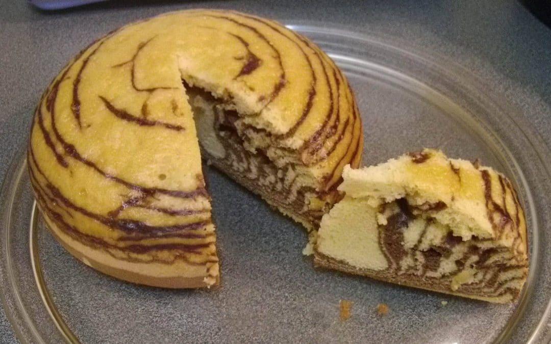 Gateau Cookeo : Cuisiner rapidement et facilement un superbe Marbré !