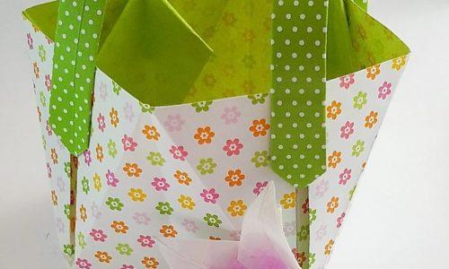 Sac Origami : Comment faire un sac en origami DIY !