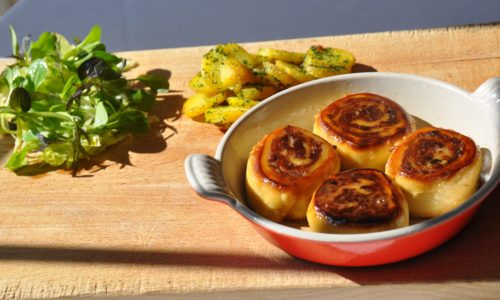 Fleischnacka : Escargots à la viande de boeuf, c'est trop bon !