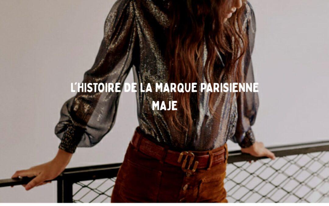 marque parisienne Maje