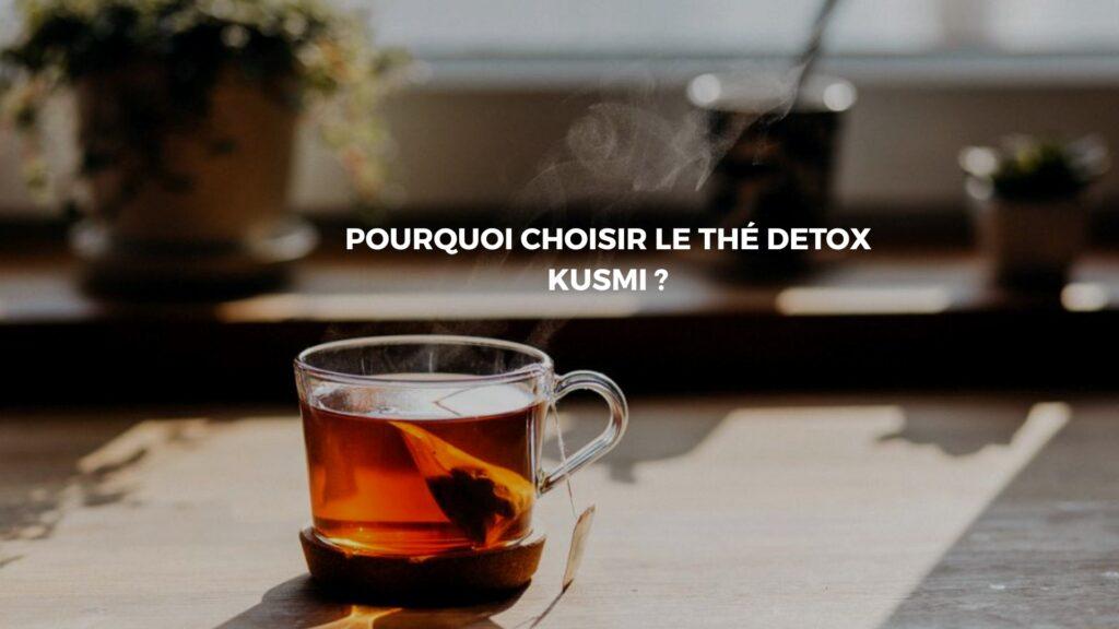 kusmi thé detox