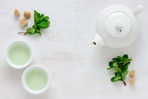 Du thé vert pour une belle peau ?!