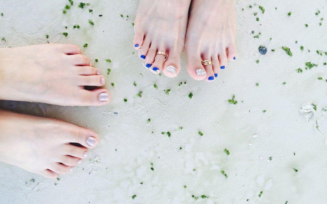 French manucure pied : Apprenez à la faire à la maison