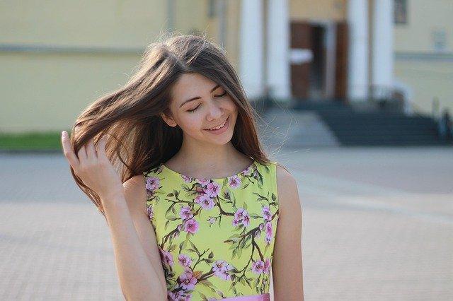 robe t-shirt fleurie