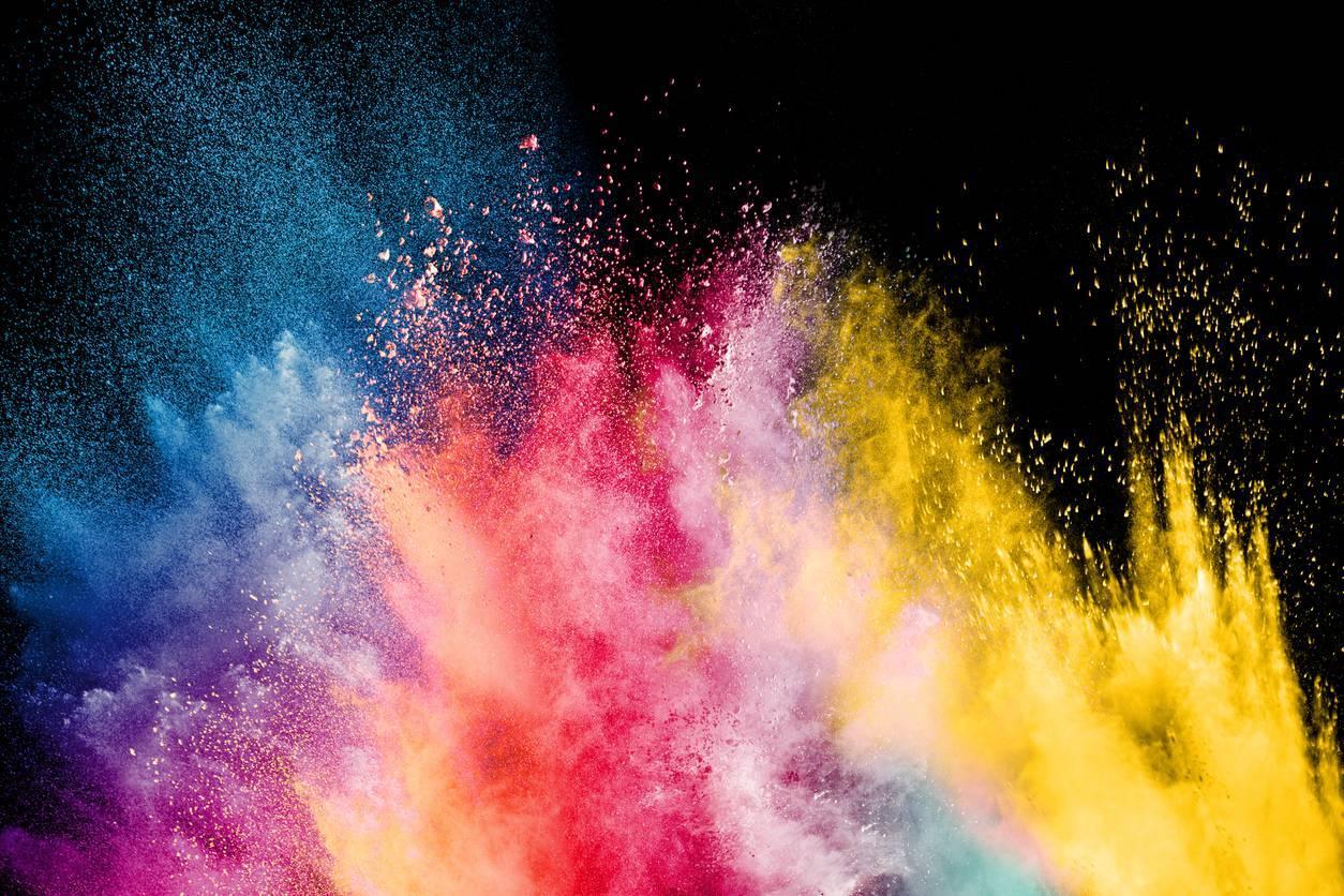 pigments de peinture