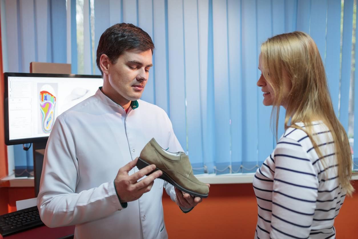 Des chaussures pour pieds sensibles