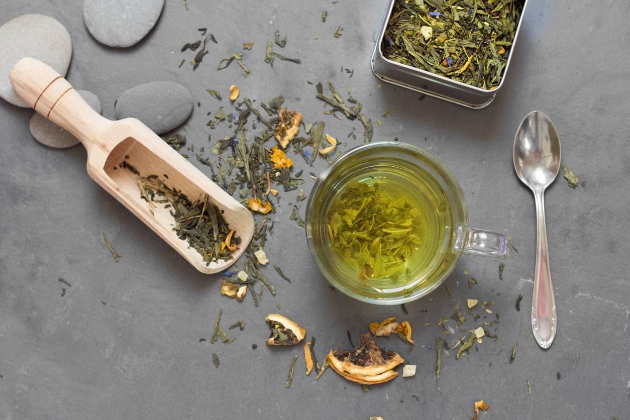 thé vert détox